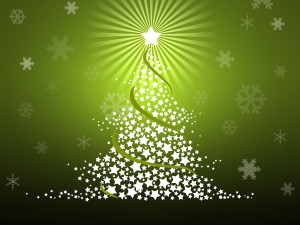 Green-Christmas-Tree-Background